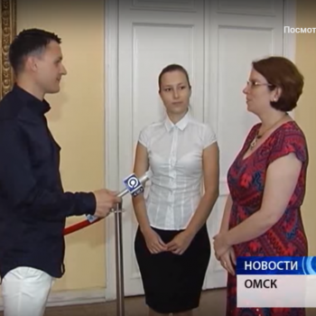 Interpreter at the III International Scientific and Practical Restoration Workshop in Omsk